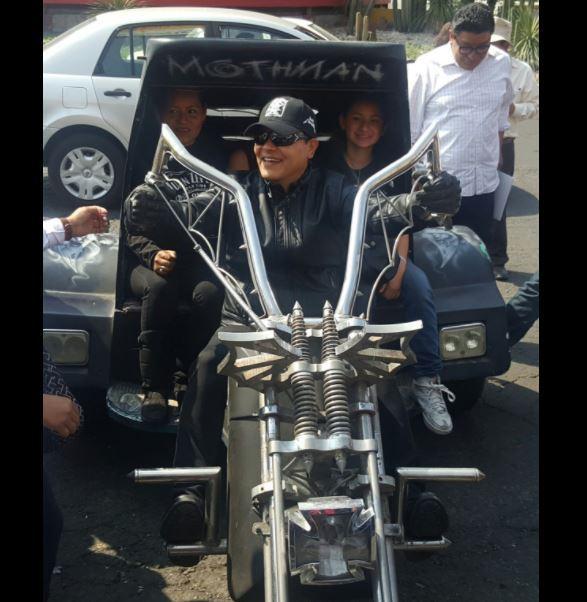 Zepeda participa en Rodada Motociclista por los Derechos de la Mujer