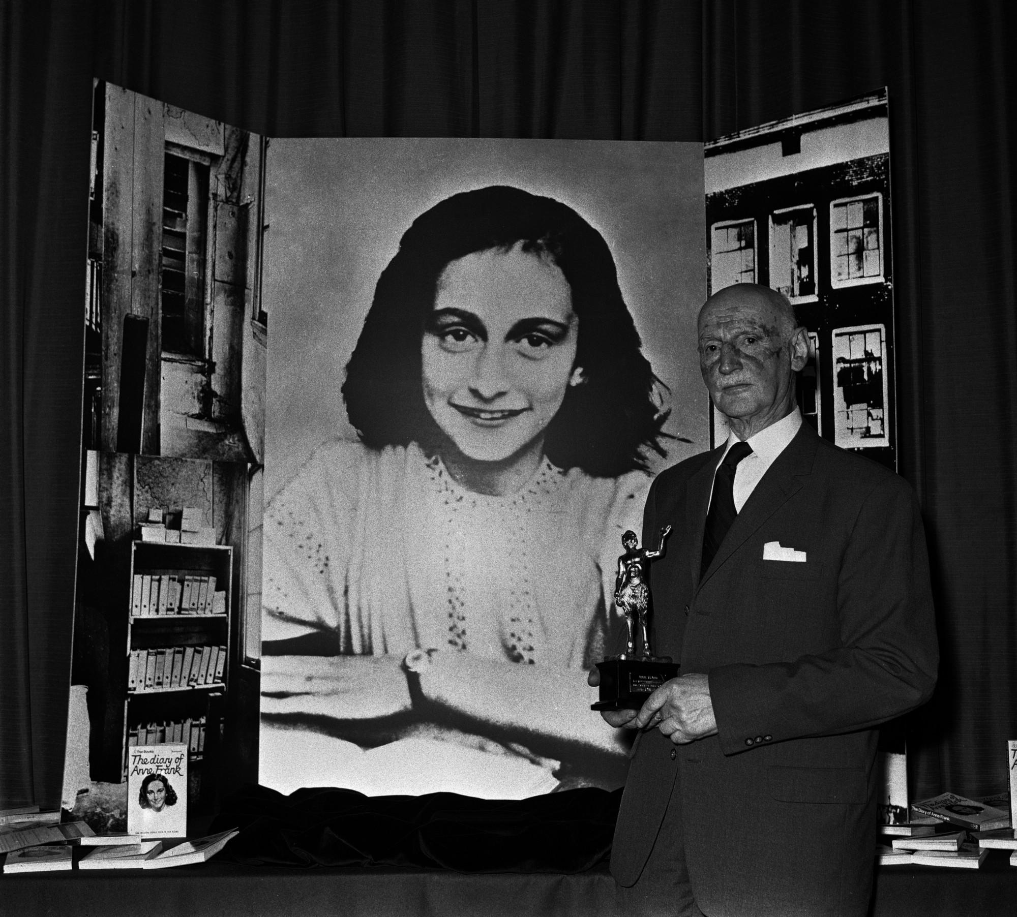 ¿Quién escribió el diario de Ana Frank?