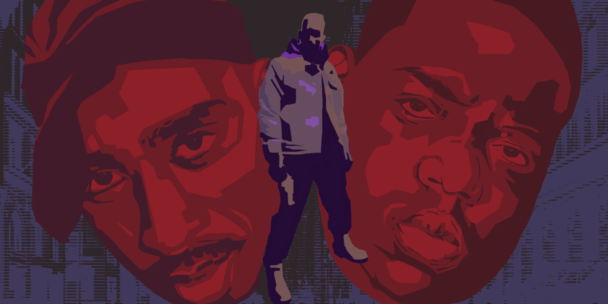 Tupac, Notorious B I G  y la lucha del East Coast vs West