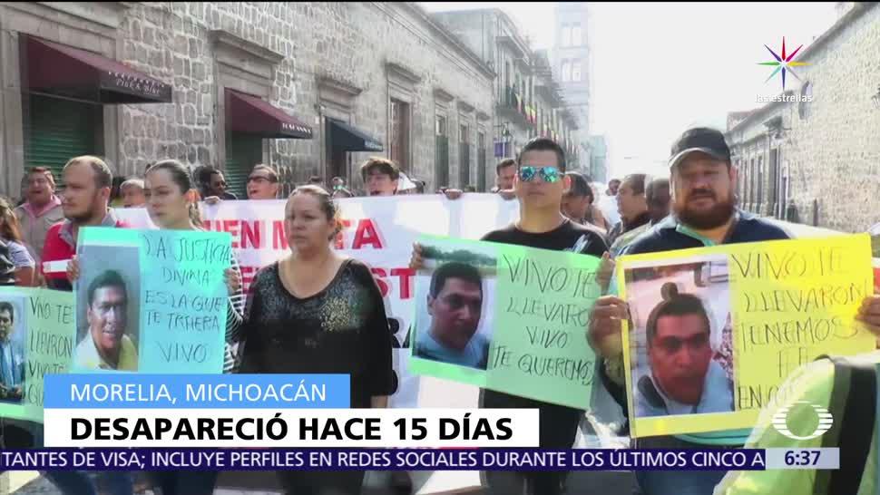 periodistas de Michoacán, denuncia penal, desaparición, Salvador Adame