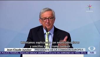 Jean Claude Juncker, Comisión Europea, Estados Unidos, Acuerdo de París