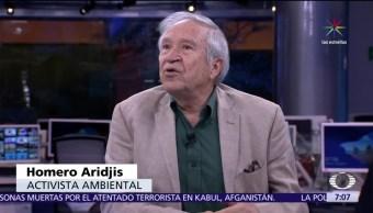 activista ambiental, Homero Aridjis, CDMX, cambio cilmático, Acuerdo de París