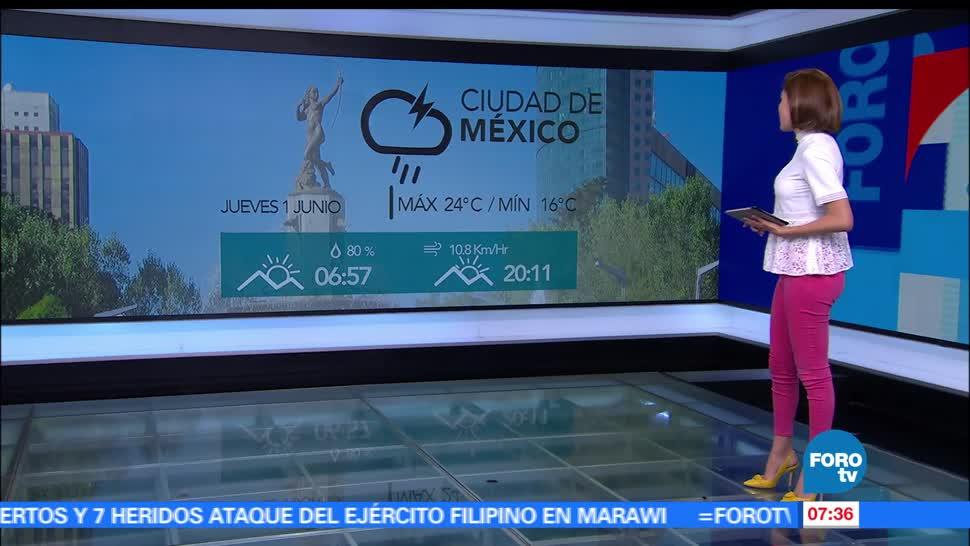 depresión tropical, Puerto Ángel, Oaxaca, Ciudad de México, grados centígrados