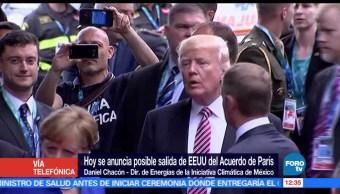 noticias, forotv, Consecuencias, posible salida, EU, Acuerdo de Paris