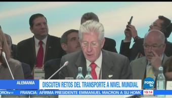 Discuten, retos, transporte, nivel mundial, Gerardo Ruiz Esparza, Cumbre transporte