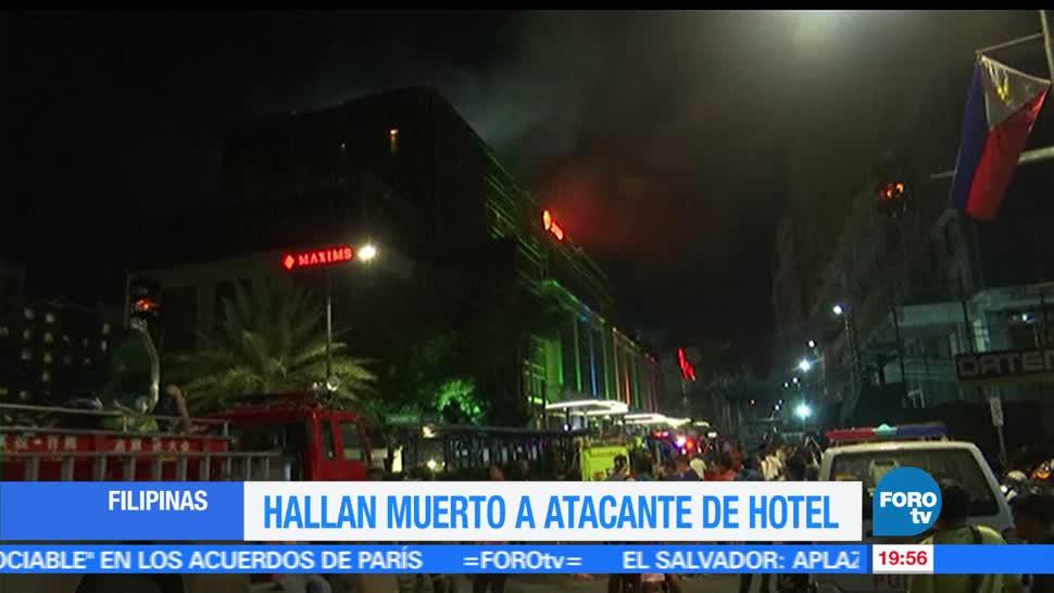 Hallan, muerto, atacante de Filipinas, Manila, Suicidio, Quemandose