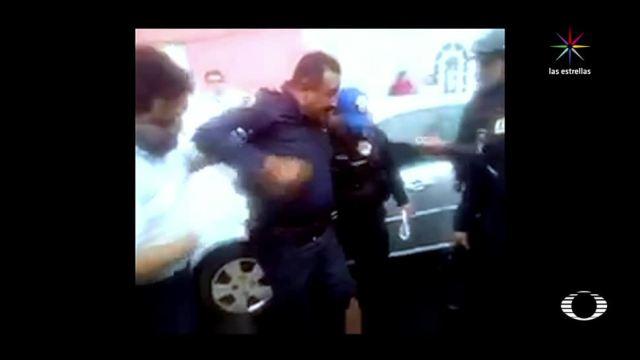 Atropellan, policía, CDMX, Buenavista, sspcdmx, buenavista