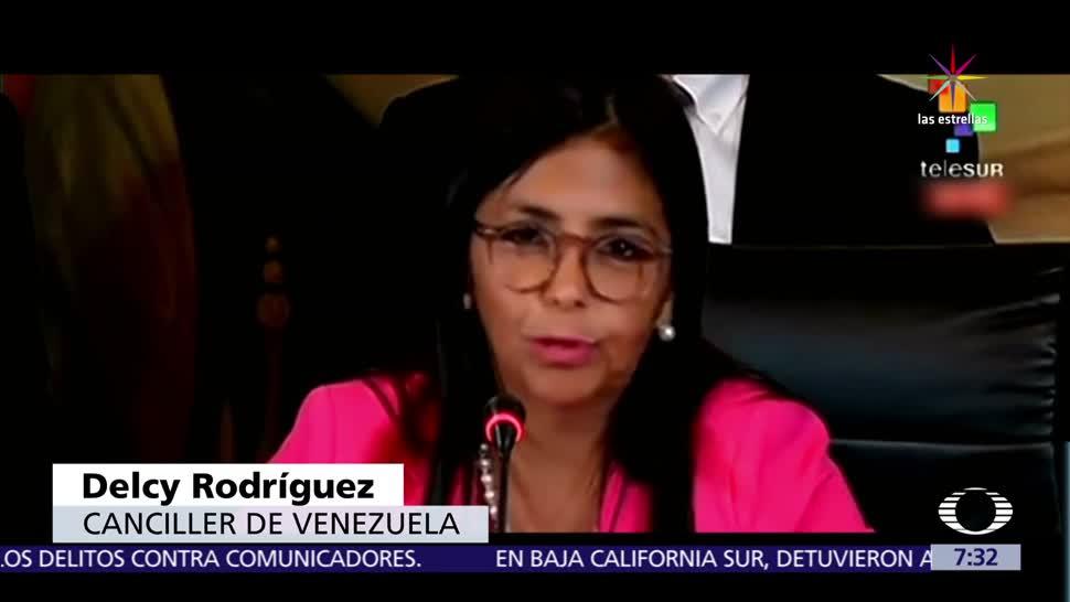 Crece, tensión, cancilleres, México y Venezuela