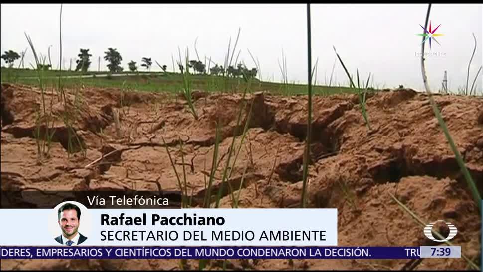 Rafael Pacchiano, secretario de Medio Ambiente, salida EU, Acuerdo de París