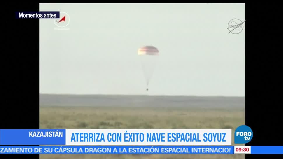 Regresan, Tierra, astronautas, Estación Espacial Internacional EEI