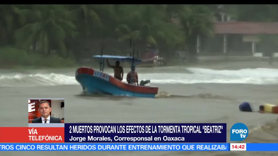 Remanentes de Beatriz, afectan, tramos carreteros, Oaxaca, tormenta, tropical