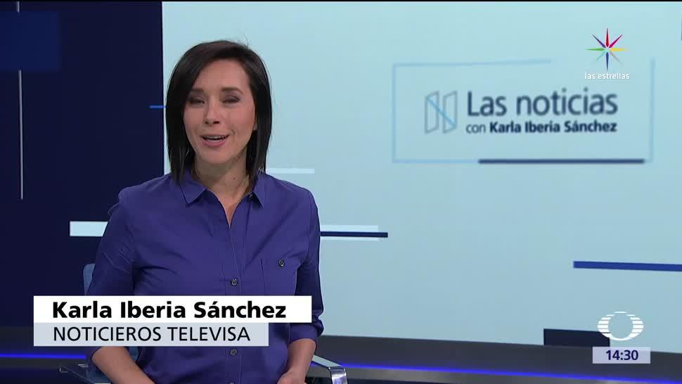 Las Noticias, Karla Iberia, Programa, 2 junio de 2017, Televisa News, Noticieros Televisa