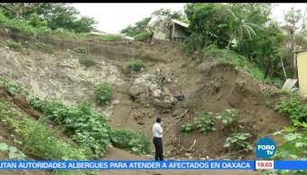 Riesgo, casas, deslaves, derrumbes, lluvias, Veracruz