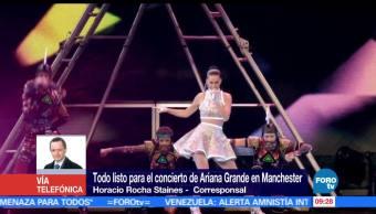Ariana Grande, Manchester concierto, Facebook, Twitter YouTube