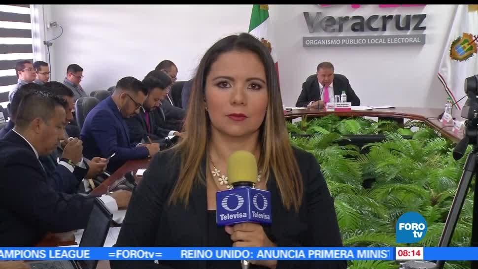 Autoridades de Veracruz, ciudadanos, clima de paz, proceso electoral