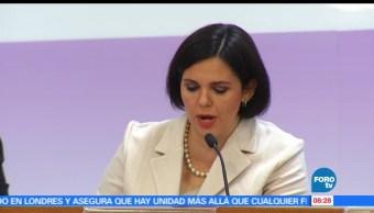 Gabriela María de León, consejera presidente, Instituto Electoral, Coahuila