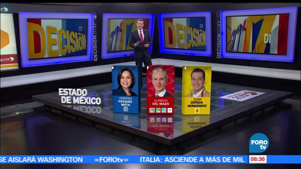 Quiénes son, candidatos. gobernador, Edomex, gobernadores, estado de méxico
