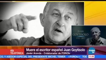noticias, forotv, Muere, escritor, Juan Goytisolo, Marrakech