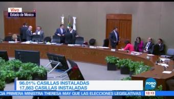 Estado de México, incidentes, instalación de casillas, casillas especiales