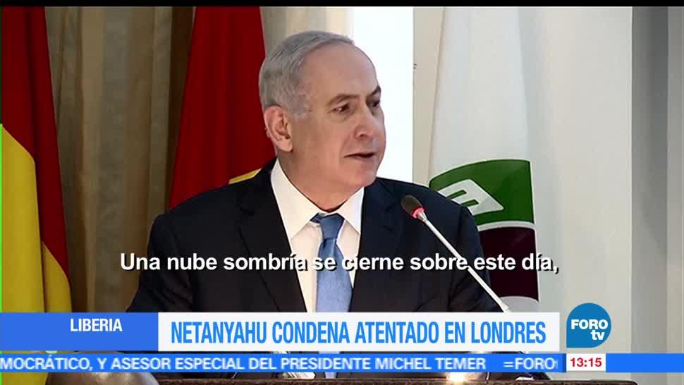 primer ministro, Israel, Benjamin Netanyahu, atentado, Londres