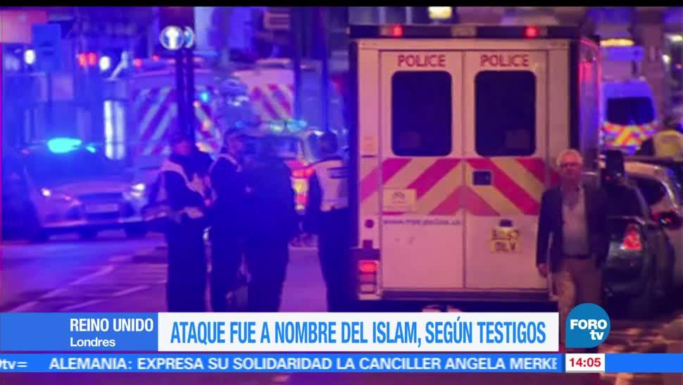 noticias, forotv, Terrorista de Londres, agresión, islam, testigo