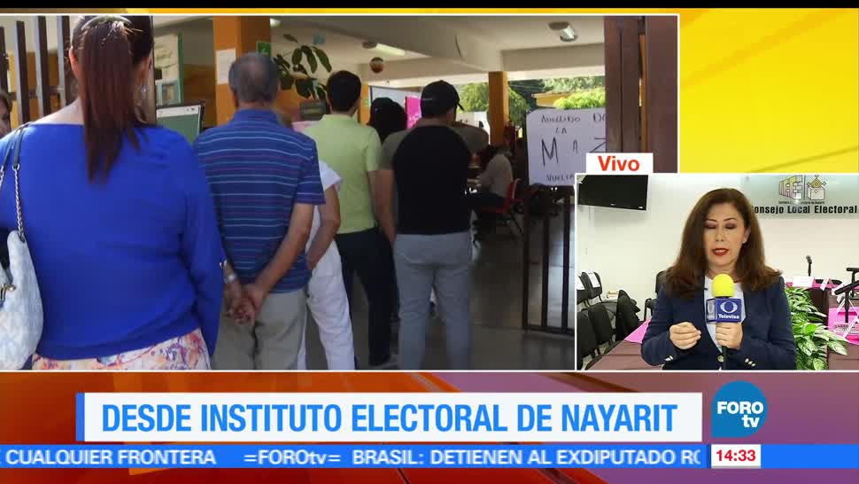noticias, forotv, Instituto Electoral, Nayarit, reporta, apertura de casillas