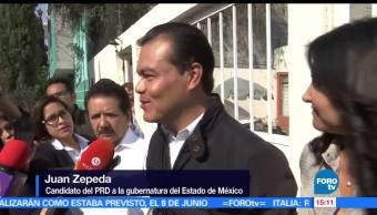 noticias, forotv, Juan Zepeda, emite, voto, Neza