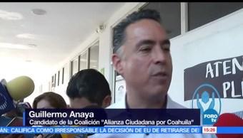 noticias, forotv, candidatos, gubernatura, Coahuila, emiten su voto