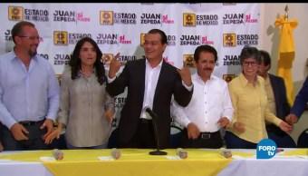 Juan Zepeda, esperar resultados, oficiales, candidato del PRD