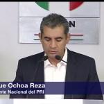 Enrique Ochoa Reza, presidente nacional del PRI, jornada electoral, vencedor