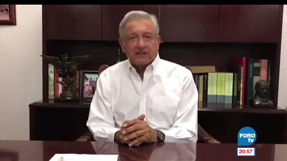López Obrador, AMLO, video, asegura, victoria, Delfina Gómez en Edomex