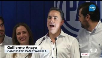 Guillermo Anaya, se declara, ganador, Coahuila, elecciones, votaciones