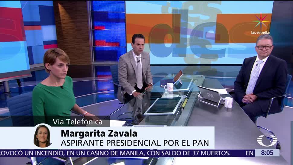 Margarita Zavala, PAN, 2018, jornada electoral