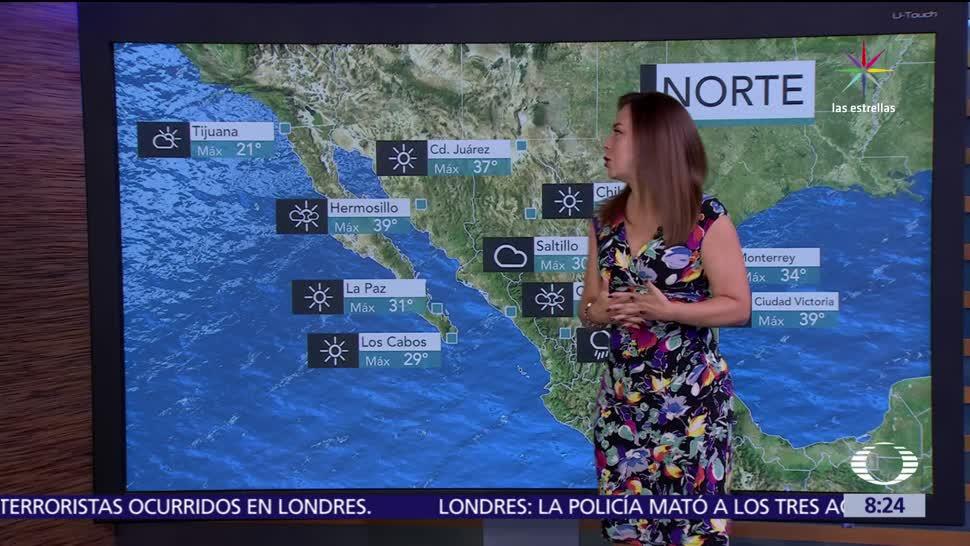 zona de inestabilidad, rachas fuertes, viento, torbellinos, Chihuahua, Coahuila