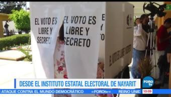 Nayarit, Antonio Echevarría, coalición Juntos por ti, conteo rápido, 38.55