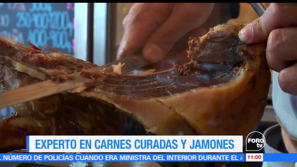 Enrique Muñoz, reportaje, experto, carnes curadas