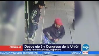 Asaltan, sucursal bancaria, Eje 3 y Congreso de la Unión, Ciudad de México
