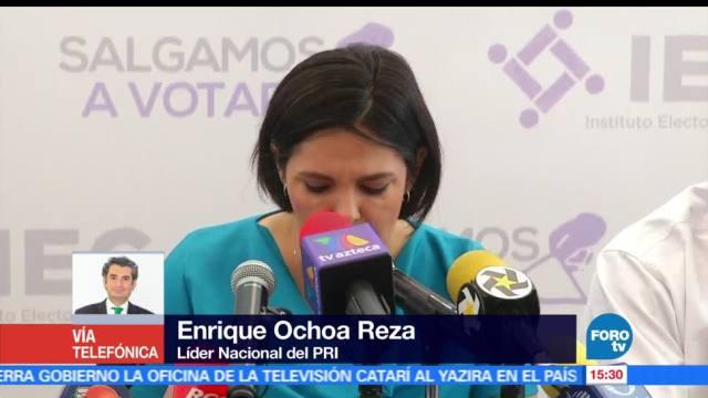 Del Mazo, ganó en Edomex, Enrique Ochoa Reza, líder nacional del PRI