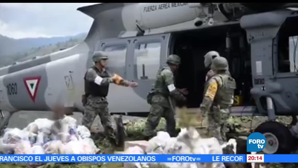 noticias, forotv, Oaxaca, recupera, afectaciones, tormenta tropical Beatriz