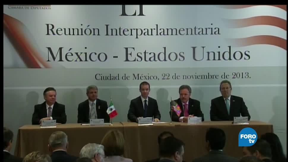 noticias, forotv, México, Estados Unidos, Cumbre, Interparlamentaria