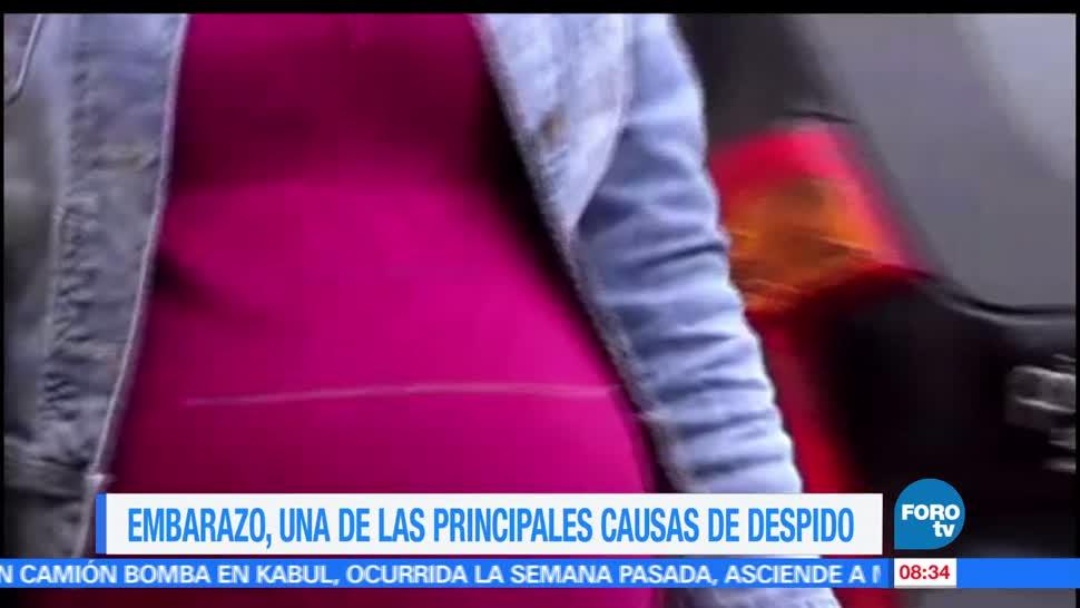 Ciudad de México, mil 281 denuncias, despido, embarazo