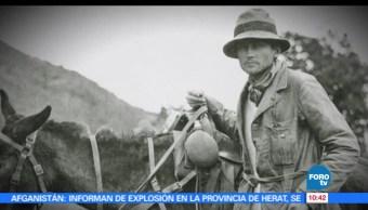 documentalista Armando Ruiz, arqueólogo, Hiram Binham, Machu Pichu