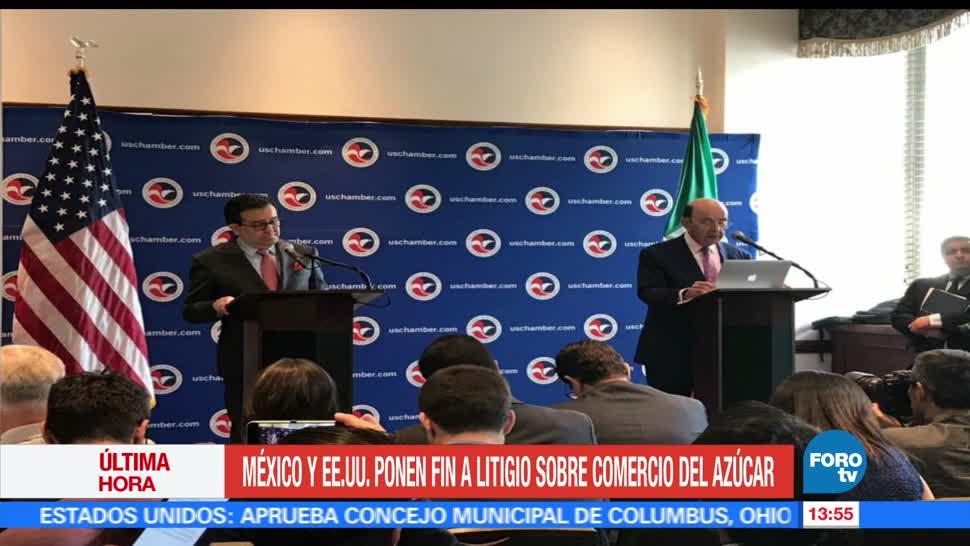 México y EU, secretario de Economía, Ildefonso Guajardo, secretario de Comercio, Wilbur Ross
