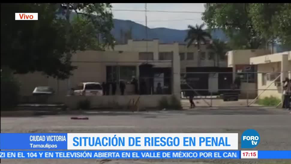 Situación riesgo, penal, Cd. Victoria, Tamaulipas