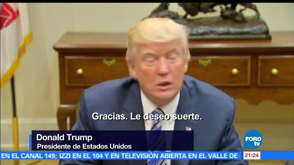 noticias, forotv, Trump, desea, suerte, James Comey