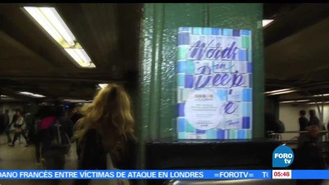 Metro de Nueva York, mayor afluencia, mundo, libros gratuitos