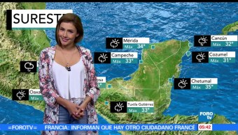 canales de baja presión, nubosidad, lluvias, República, onda tropical