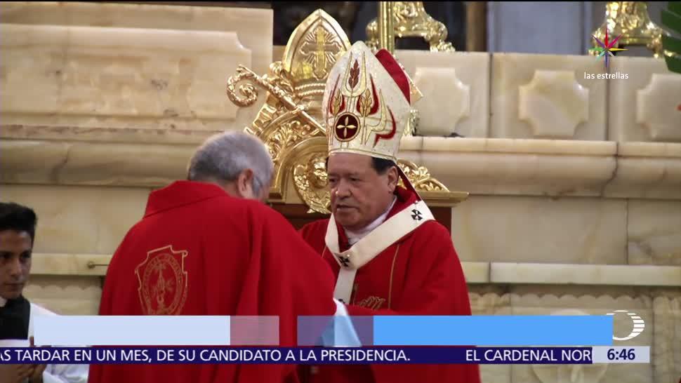 cardenal Norberto Rivera, 75 años, Derecho Canónico, renuncia al Vaticano