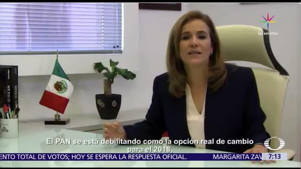 Margarita Zavala, Ricardo Anaya, derrota del PAN, Edomex