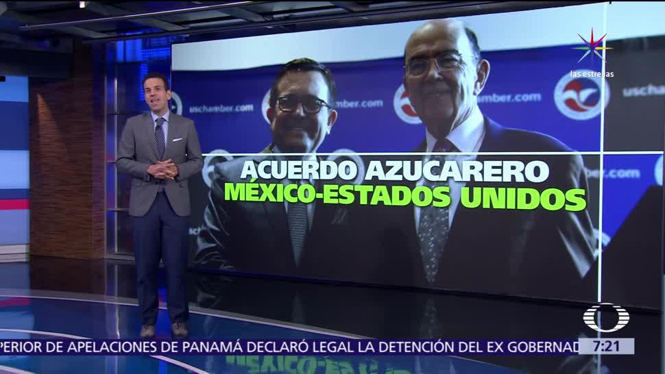México y Estados Unidos, comercio del azúcar, Ildefonso Guajardo, Wilbur Ross